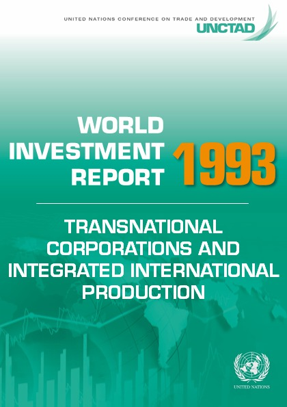 World Investment Report 1993