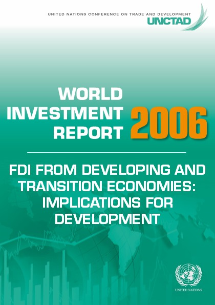 World Investment Report 2006